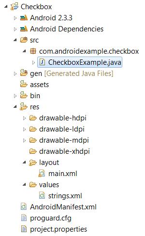 checkbox basics project sketch