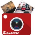 Auto Signature Stamp on Photo