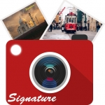 Auto Signature Stamp on Photo