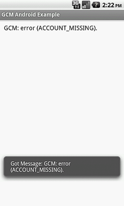 Android Push Notifications using Google Cloud Messaging GCM